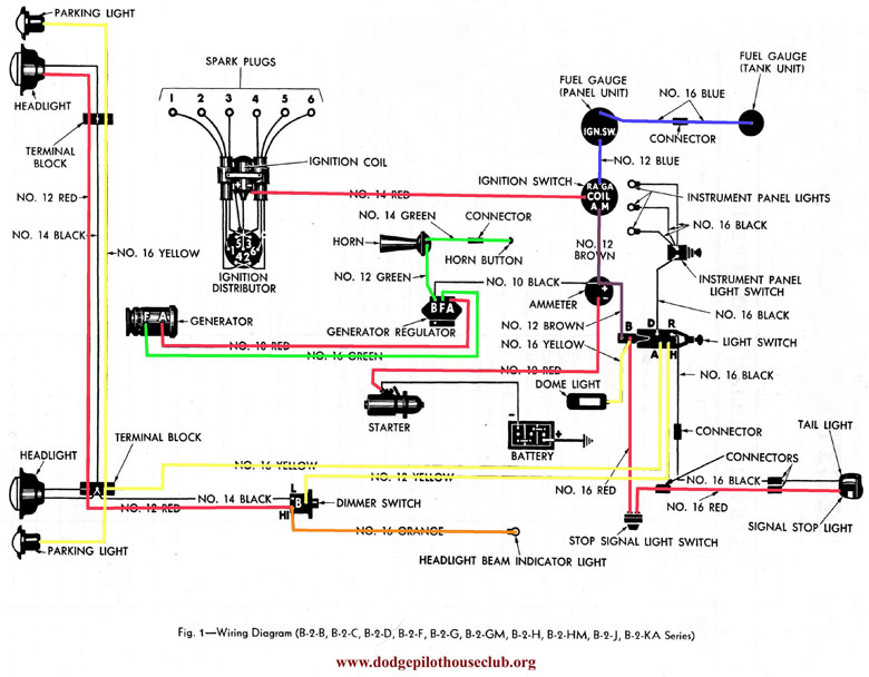 12 volt conversion wiring diagram 1951 plymouth 6 volt to 12 volt technical archives p15 d24 com and pilot  6 volt to 12 volt technical archives